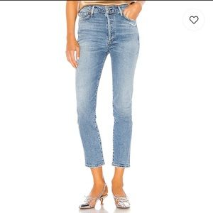 Citizens of Humanity Olivia High Rise Crop Jeans